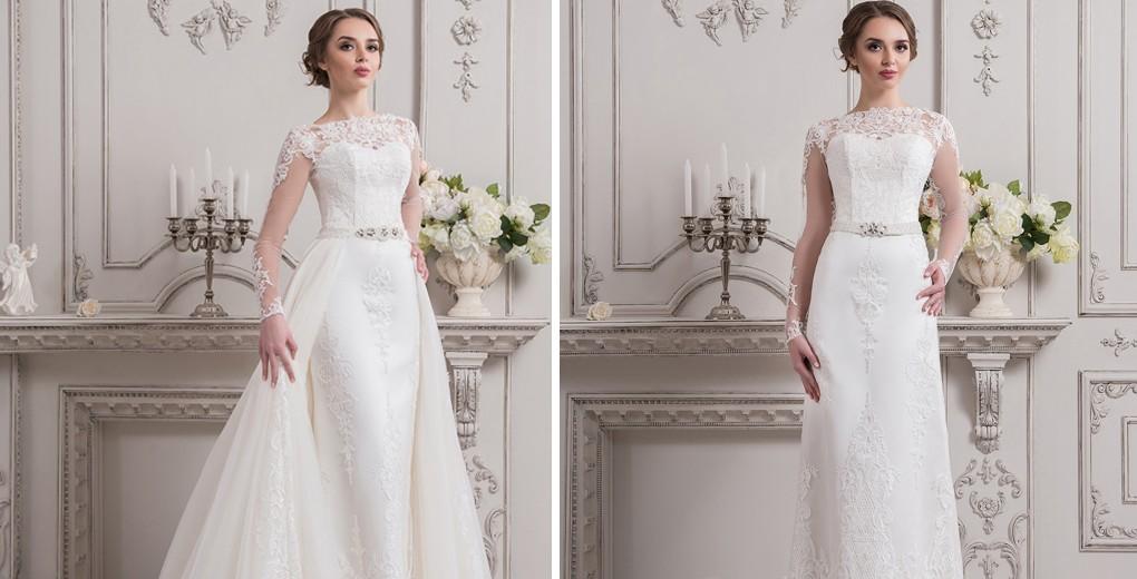 bec276fb4b41ed Весільне плаття - трансформер