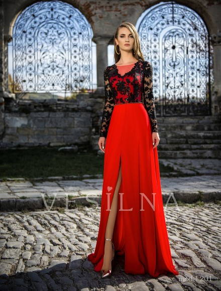 Collection «Veronica»: Evening dress, model 201 from Vesilna™ — for wholesale and retail фото