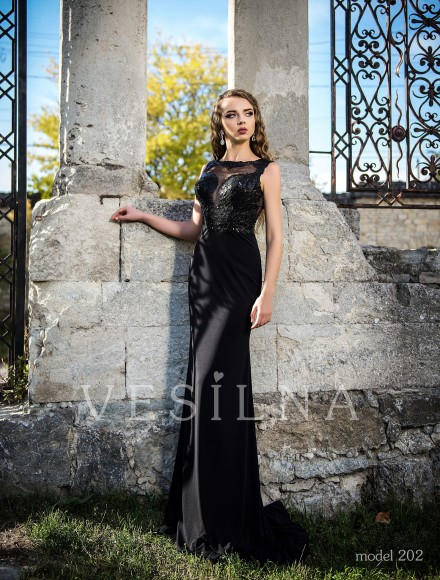 Collection «Veronica»: Evening dress, model 202 from Vesilna™ — for wholesale and retail фото