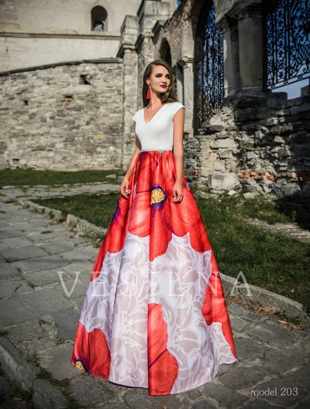 Collection «Veronica»: Evening dress, model 203 from Vesilna™ — for wholesale and retail фото