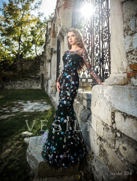 Collection «Veronica»: Evening dress, model 204 from Vesilna™ — for wholesale and retail фото