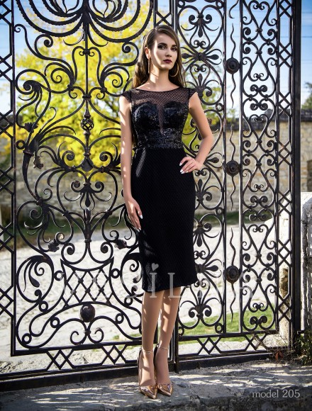 Collection «Veronica»: Evening dress, model 205 from Vesilna™ — for wholesale and retail фото
