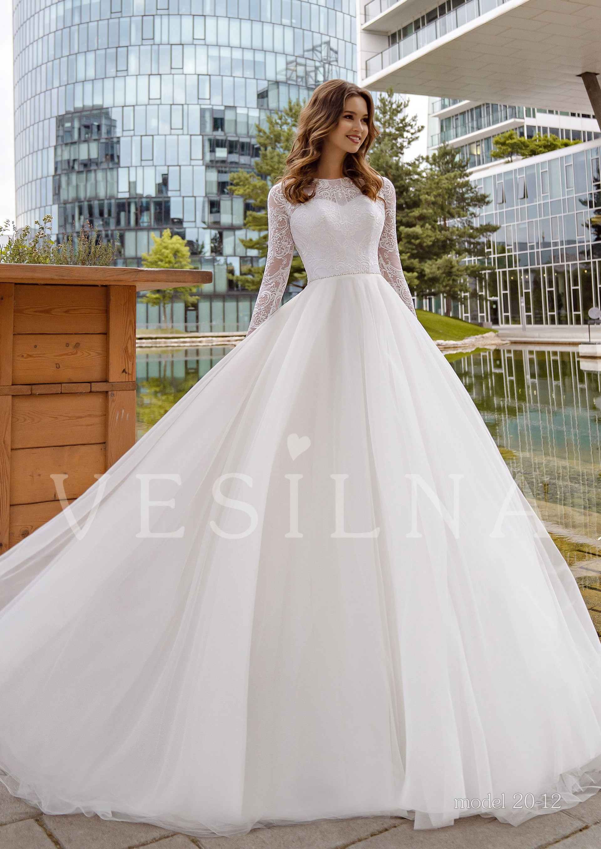 Collection «PASSION OF LOVE»: Wedding dress model 20-12 фото