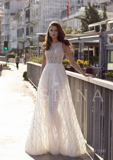 Collection «BLOOMING LOVE»: Wedding dress, model 5203 from Vesilna™ — foto and price фото