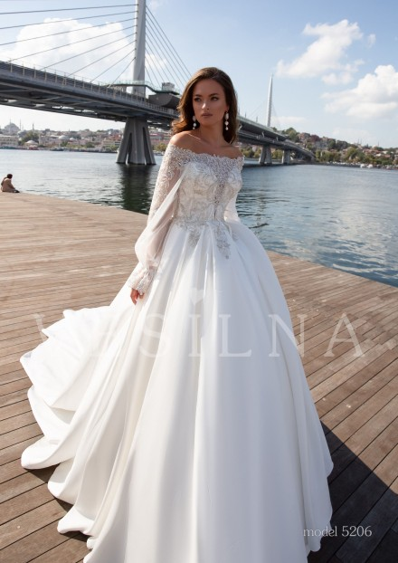 Collection «BLOOMING LOVE»: Wedding dress, model 5206 from Vesilna™ — foto and price фото