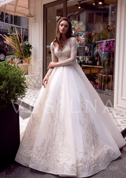 Collection «BLOOMING LOVE»: Wedding dress, model 5210 from Vesilna™ — foto and price фото