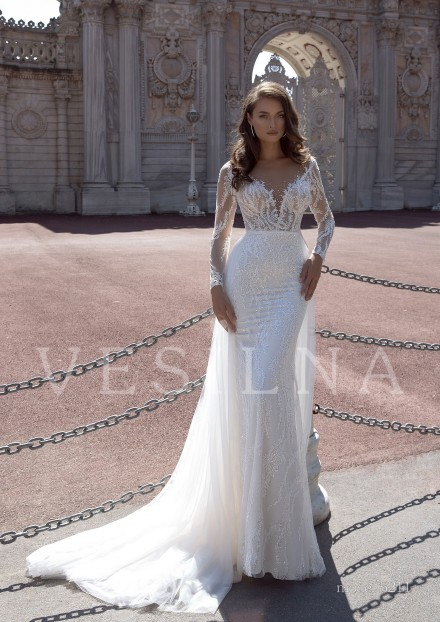 Collection «BLOOMING LOVE»: Wedding dress, model 5211 from Vesilna™ — foto and price фото