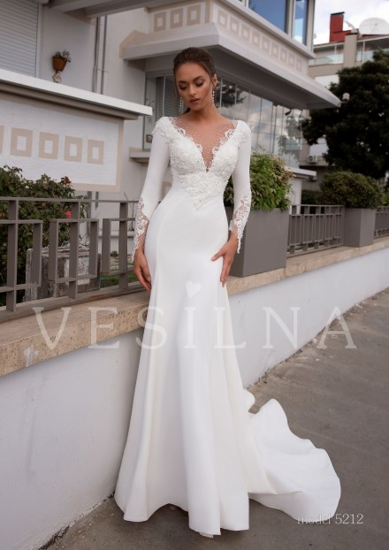 Collection «BLOOMING LOVE»: Wedding dress, model 5212 from Vesilna™ — foto and price фото