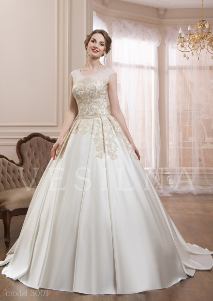 Collection «VICTORIA»: Wedding dress, model 3001 from Vesilna™ — for wholesale and retail фото