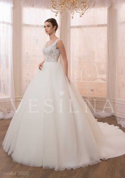 Collection «VICTORIA»: Wedding dress, model 3002 from Vesilna™ — for wholesale and retail фото
