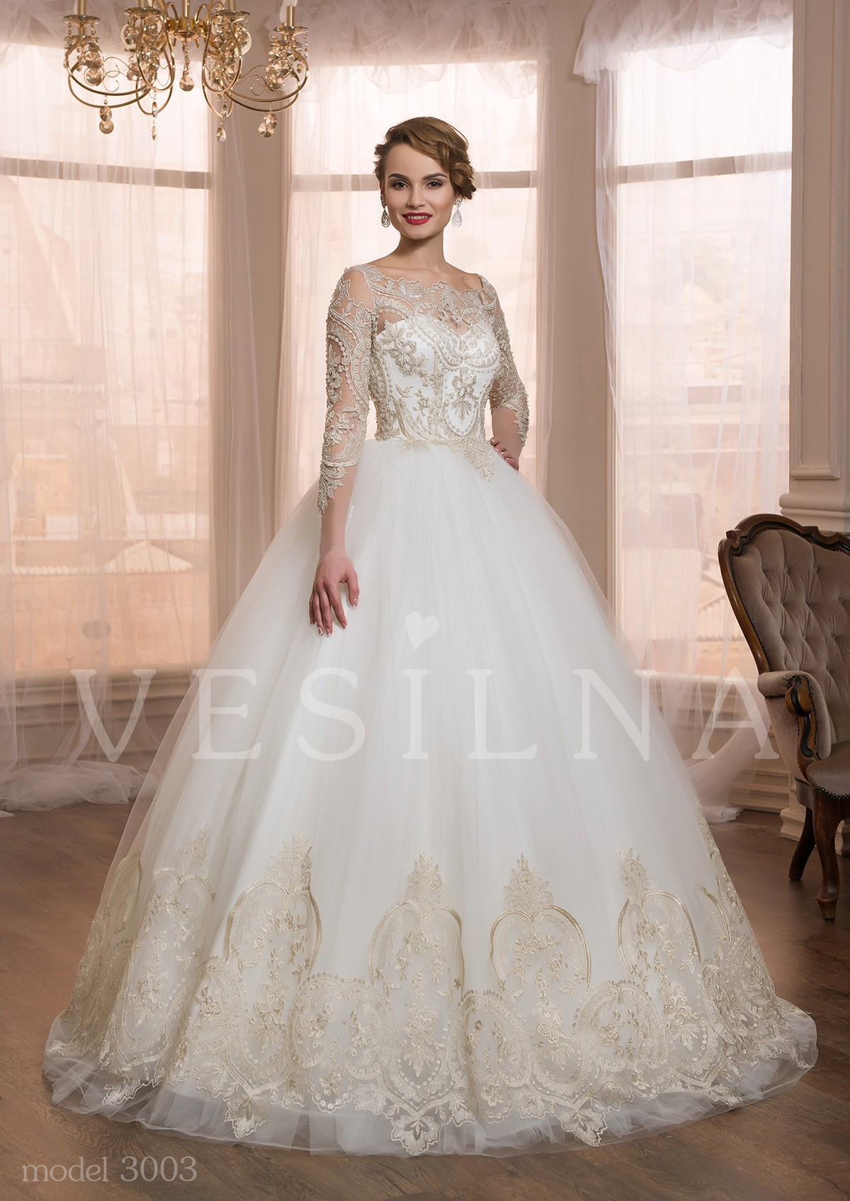Свадебные платье 2016 года