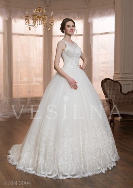 Collection «VICTORIA»: Wedding dress, model 3004 from Vesilna™ — for wholesale and retail фото