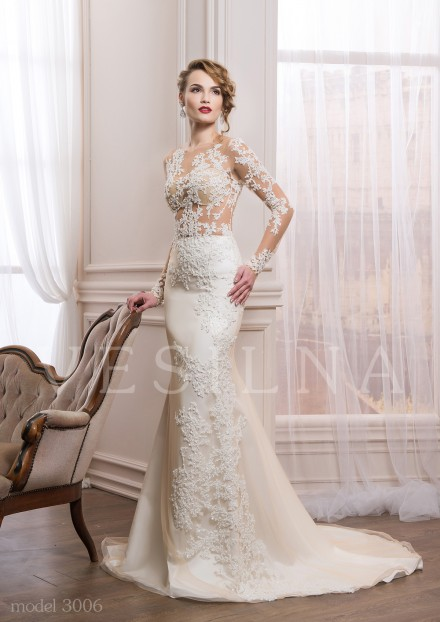Collection «VICTORIA»: Wedding dress, model 3006 from Vesilna™ — for wholesale and retail фото