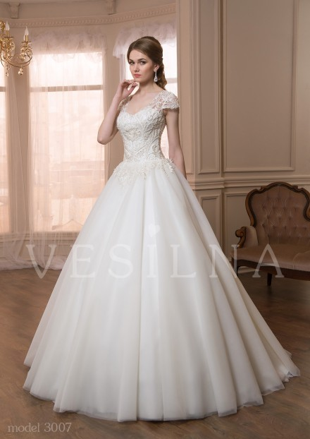 Collection «VICTORIA»: Wedding dress, model 3007 from Vesilna™ — for wholesale and retail фото