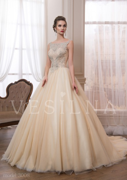 Collection «VICTORIA»: Wedding dress, model 3008 from Vesilna™ — for wholesale and retail фото