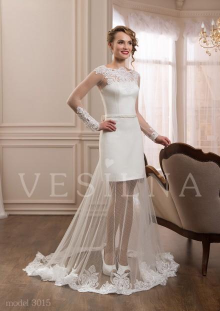 плаття весільні короткі фото