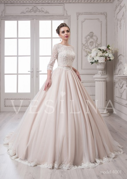 Collection «SOFIA»: Wedding dress, model 4001 from Vesilna™ — for wholesale and retail фото