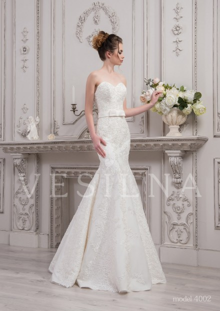 Collection «SOFIA»: Wedding dress, model 4002 from Vesilna™ — for wholesale and retail фото