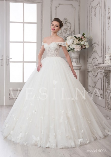 Collection «SOFIA»: Wedding dress, model 4003 from Vesilna™ — for wholesale and retail фото
