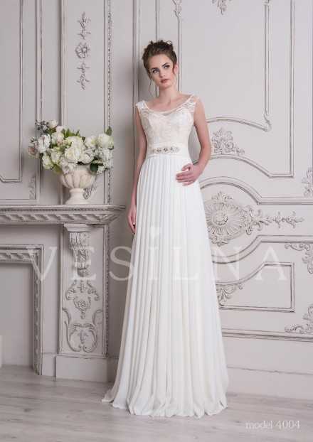 Collection «SOFIA»: Wedding dress, model 4004 from Vesilna™ — for wholesale and retail фото