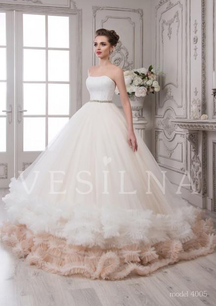 Свадебное платье цена 2016