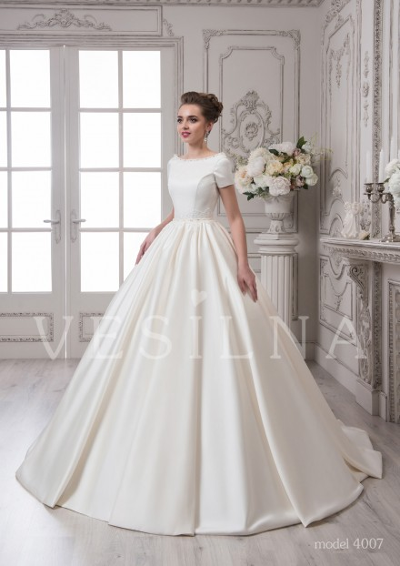 Collection «SOFIA»: Wedding dress, model 4007 from Vesilna™ — for wholesale and retail фото