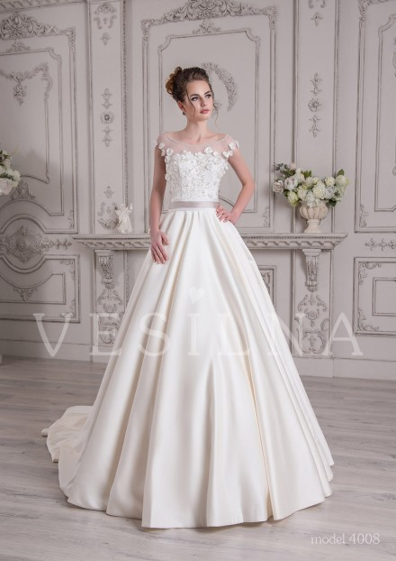Collection «SOFIA»: Wedding dress, model 4008 from Vesilna™ — for wholesale and retail фото
